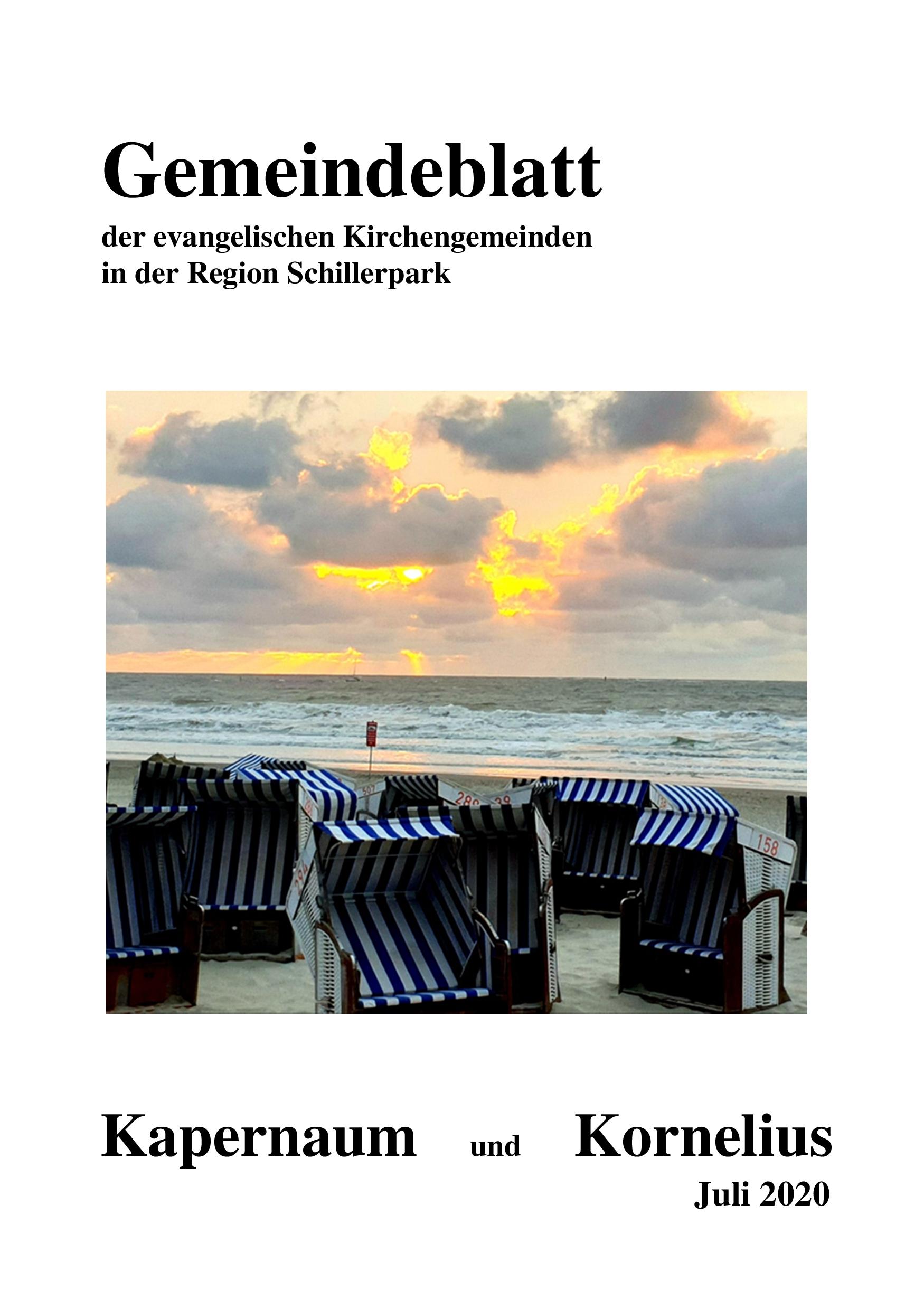 Gemeindeblatt 07-2020 jetzt online